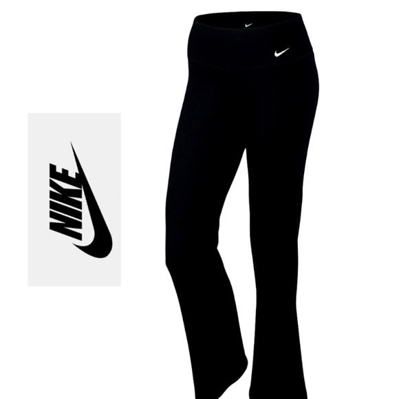 Nike Dri Fit Power Pants BlackWhite